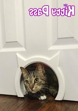 Cat Door The Kitty Pass Interior Cat Door Pet Door Hidden Li