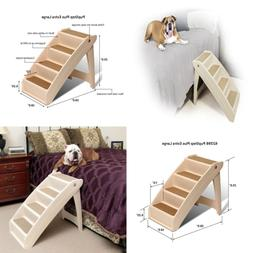 Step Pet Plus- Pup Stairs Cat Small Dog -Extra Ramp New Solv