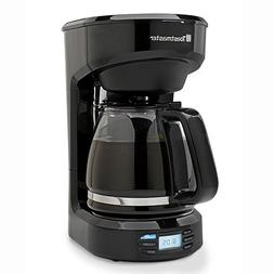 Toastmaster TM-121CM 12 Cup Digital Coffeemaker, Black