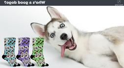 Adamo Custom Bone Socks - Your Pet on Premium Affordable Soc