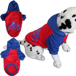 AdiDog Hoodie Pet Dog Clothes Warm Small to Large  Light  Cu