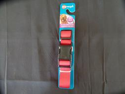adjustable collar red large 1 x 16