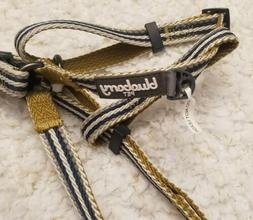 Blueberry Pet Adjustable Dog Harness NWT Pattern Navy/White