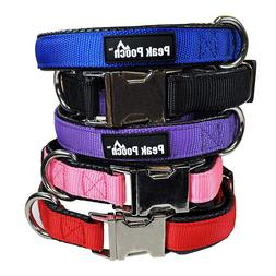 Downtown Pet Supply Adjustable Quick Release Dog Collar with