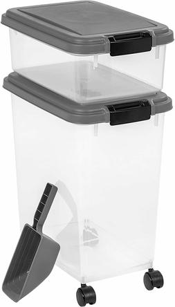Iris Airtight Pet Food Storage Container Set