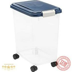 IRIS Airtight Pet Food Storage Container For Dry Cat/Dog Foo