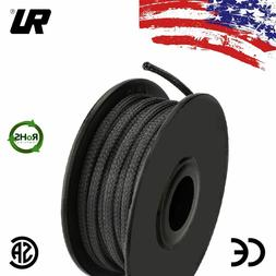 ALL SIZES  1 FT - 100 FT Black Expandable Wire Cable Sleevin