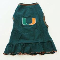 All Star Dogs Miami Dress Size Large NCAA Cheerleader Dog Pe