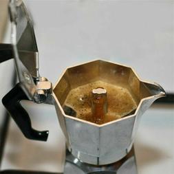 Aluminum Moka Espresso Coffee Maker Percolator Stove Top Pot