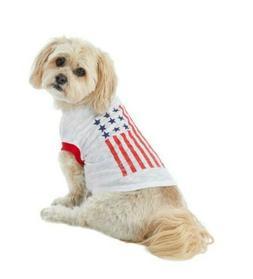 Top Paw® American Flag Pet Tee Xsmall
