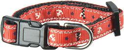 anchors nylon ribbon collar for pets x