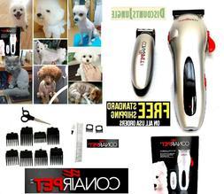 CONAIR 20 pc Rechargeable Cordless clipper & trimmer Pet hai