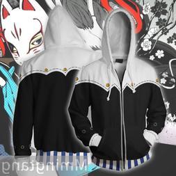 Anime Persona 5 Yusuke Unisex Sweatshirts Coat Cosplay Cardi