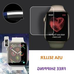 For Apple Watch Series 5 & 4 44mm 40mm Soft PET Full Cover S