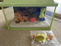 "American Girl aquarium fish tank Lights up NEW for 18"" dolls"