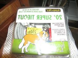 aspen Pet LARGE dog Leash metal tie out 250 pound dog yard c