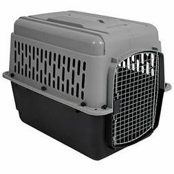 Aspen Pet Porter Heavy-Duty Pet Carrier 30-50 LBS Dark Gray/