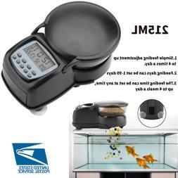 Automatic Fish Feeder WiFi Feeding Dispenser Auto Food Timer