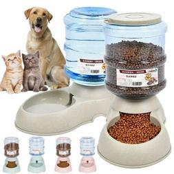 AUTOMATIC PET FOOD DISPENSER Dog Cat Feeder Waterer Auto Dis