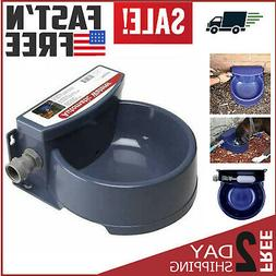 Automatic Pet Waterer Outdoor Water Dispenser Auto Dog & Cat