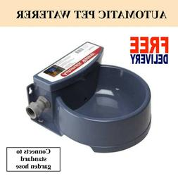 Automatic Pet Waterer Supplies Outdoor Drink Fresh Water Dis