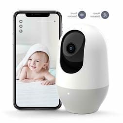 Baby Monitor, WiFi Camera, Pet Camera 1080P, 360-degree Wire