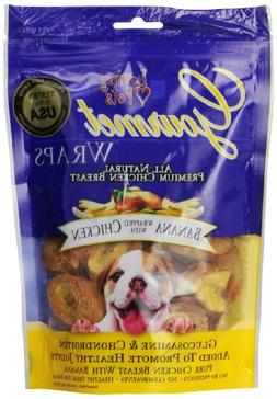 Loving Pets All Natural Premium Banana and Chicken Wraps wit