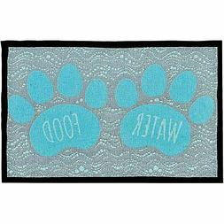 Loving Pets Bella Fashion Mat for Dogs Food and Water - NEW