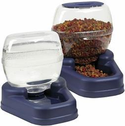 Bergan Gourmet Petite Combo FREE SHIPPING Pet Food Water Bow