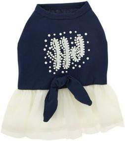 "Top Paw® ""BFF"" Pearl Pet Dress XS"