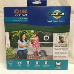 PetSafe Big Cat 4-Way Locking Cat Door, Exterior/Interior, W