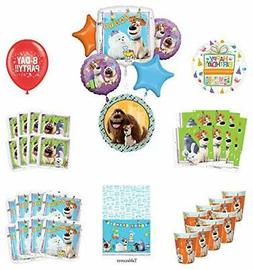 birthday party supplies 8 guest kit