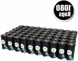 PET N PET 1000 Counts Large Black Dog Waste Bags Unscented 5