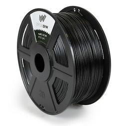 Black - PETG 1.75mm WYZworks 3D Printer Premium Filament 1kg