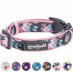 Blueberry Pet 12 Patterns Soft & Comfy Flower Collar - Small
