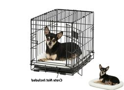Bolster Pet Bed Ideal for Metal Pet Crates for Tiny Dogs Cat