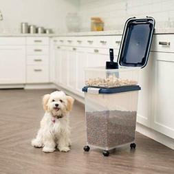 Brand New IRIS 3- Piece Airtight Pet Food Storage Container