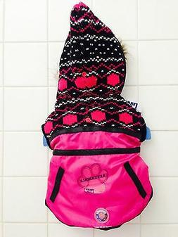 "Brand New PETCO ""Protect Me For Pets"" Dog Reversible Pink Ja"