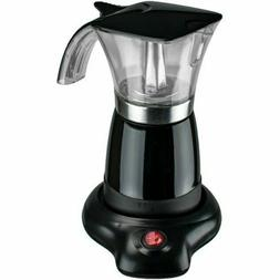 Brentwood Appliances TS-118BK 10-Ounce Electric Moka Pot Esp