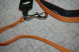 Brown Nylon Pet Durable Leash -3/4 inch Width, 4 Feet - New