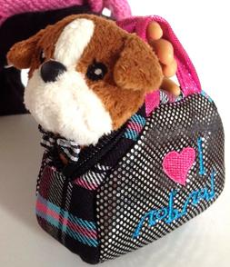 Bull Dog & Pet Carrier Purse fit 18 inch Accessories for Ame