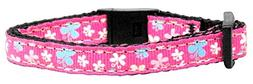 Mirage Pet Products Butterfly Nylon Ribbon Cat Safety Collar