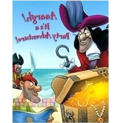 CAPTAIN HOOK & PETER PAN INVITATIONS  ~Birthday Party Suppli