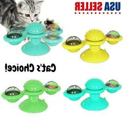 Cat Pet Toy Interactive Cat Toy Funny Windmill Cat Toy Tickl