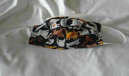 Cats Design Animal Pet Adult New Face Mask Cotton Reusable W