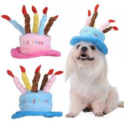 Chapeau Dog Cat Birthday Party Hats Pet Decoration Supplies