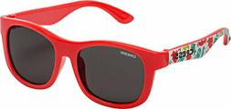 Cressi Child Teddy Aqua Pets Mirrored Lens Sunglasses Red
