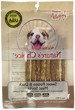 Nature'S Choice Sweet Potato & Duck Soft Chew Meat Sticks Co