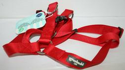 Blueberry Pet Classic Solid Step-in Dog Harness - Red Large