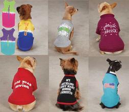 CLOSEOUT Dog Pet Top Tee T-Shirt Tank Tops Casual Canine Zac